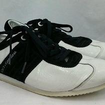 Dolce & Gabbana Black Trim Men's Sneakers 9.5 Photo