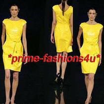 Dolce & Gabbana Bright Yellow Dress  and Corset Belt Photo