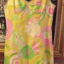Dolce & Gabbana Corset Floral Dress Pink Daisies Size 42 /6 Photo