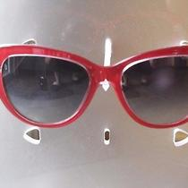 Dolce & Gabbana Dg4221 Red Sunglasses W/ Case Photo
