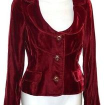 Dolce & Gabbana Gorgeous Blood Red Ladies Only Under 40 Blazer - Size 38 - 2 Photo