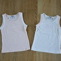 Dolce & Gabbana Junior Girls Tank Tops Set of 2 Size 4-6 Euc Photo