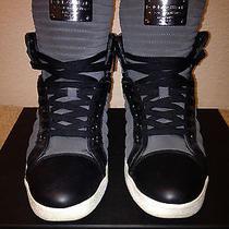 Dolce & Gabbana Logo Plate Suede Sneaker Givenchy Balmain Margiela Balenciaga Photo
