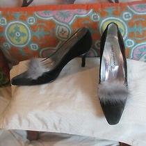 Dolce & Gabbana Pumps Size 38 1/2 Us 8 Fur  Photo