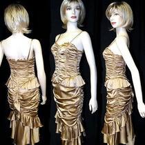 Dolce & Gabbana Sexy Popular Draped Corset Dress  Photo