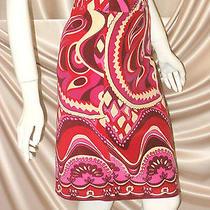 Dolce & Gabbana Skirt Medium Large Excellent Retro 1960s 1970s 1980s Authentic Photo