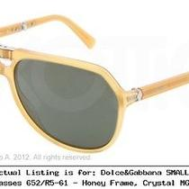 dolce&gabbana Small Sicilian Hinge Dg4196 Sunglasses 652/r5-61 Dg4196-652-R5-61 Photo