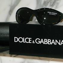 Dolce & Gabbana Unisex Black Sunglasses With Original Case. Dg6066. New. Photo