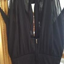 Dolce & Gabbana Vintage Runway 1990's Black Corset  Dress  It40 Sexy Mini Sz 8 Photo