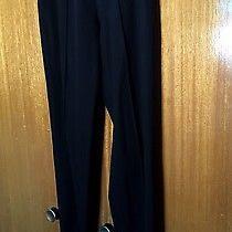 Dolce & Gabbana Women's Black Skinny Leg Pants Size 2 With Stirrups   Photo