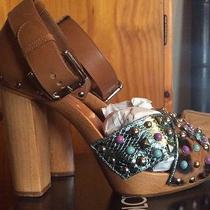 Dolce & Gabbana 'Zoccolo Heel' -Size 38eu - Rrp 1500.00  Free Postage Photo