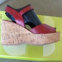 Dolce Vita 6m Nwt Red With Cork Soles Photo