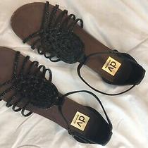 Dolce Vita Black Braided Sandals Size 10 Photo