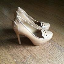 Dolce Vita Blush Patent Loafer Pumps 7 Photo