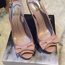 Dolce Vita Bow Patent Leather Blush 9m Scarlett Heels  Photo