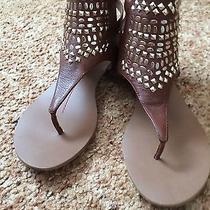 Dolce Vita Brown Sandals 8 Photo