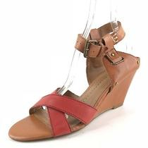Dolce Vita Brown Strappy Wedge Sandals Womens Size 9 M  Photo