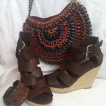 Dolce Vita Brown Wedges Photo