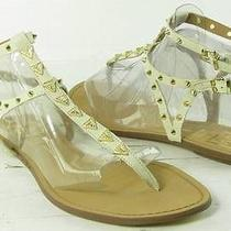 Dolce Vita by Vanessa Mooney Atara Natural Ankle Strap Womens Size 10 M New 80 Photo