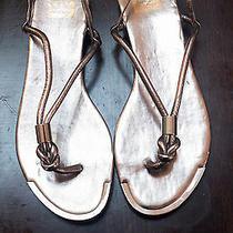 Dolce Vita Dv Gold Sandals Photo