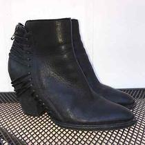 Dolce Vita Harvie Ankle Black Zip Booties Women's Size 8 Photo