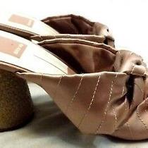 Dolce Vita Heels Shoes Sandals Pumps Sz 8.5 M Fabric Blush Pink Jute Wrap Heels Photo