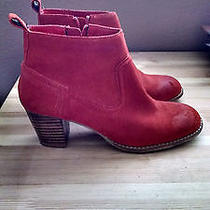 Dolce Vita Jamison Ankle Bootie Suede in Orange Photo