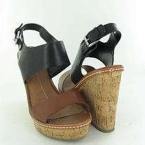 Dolce Vita Jonee Brown/black Sandals Womens Size 6.5 M New 90 Photo