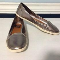 Dolce Vita Metallic Flats Sz 7.5 Photo