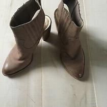 Dolce Vita Natural Leather Booties 7.5 Euc Photo