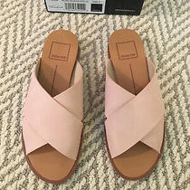 Dolce Vita Preen Slide Suede Sandals Pink Blush Size 5 Photo