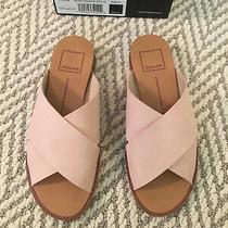 Dolce Vita Preen Slide Suede Sandals Pink Blush Size 5 Photo