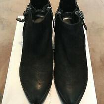 Dolce Vita Saylor Black Booties Boots 8.5 Bnib  Photo