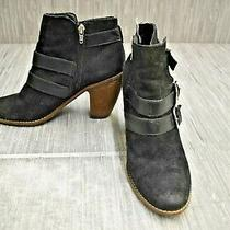 Dolce Vita Shep Booties Women's Size 8.5m Black Photo
