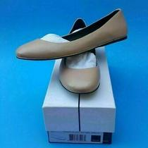 Dolce Vita Size 8 Nude Cameo Blushleather Round Toe Flats Womens Shoes New Photo