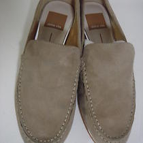 Dolce Vita Taupe Suede Loafers Sz 7.5 Photo