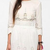 Dolce Vita (White) Lace Embroidered Dress Womens Small Urban Outfitters New Nwt Photo
