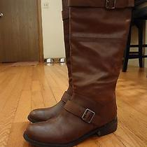 Dolce Vita Women's Brown Riding Boots 9m  Photo