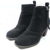 Dolce Vita Women's Joust Ankle Boots Black Suede 6.5 Med 100 Hnpz D Photo