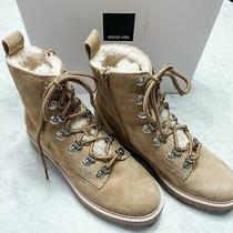 Dolce Vita Women's Patris Suede & Faux Shearling Booties New Size 8 Photo
