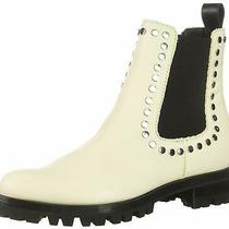 Dolce Vita Women's Peton Ankle Boot White Size 8.5 Lz8b Photo