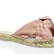 Dolce Vita Womens Benicia Blush Linen Espadrilles Size 8 (446282) Photo