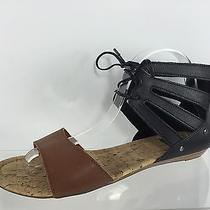 Dolce Vita Womens Black/brown Sandals 9.5 Photo