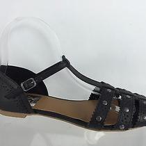 Dolce Vita Womens Black Sandals 6 Photo
