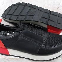 Dolce Vita Womens Yvette Black Red Fashion Platform Sneakers Shoes Size 7.5 M Photo