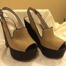 Dolcetta by Dolce Vita Slingback Wedge Sandal in Tan Size 6.5m - Nib Photo