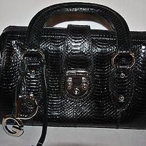 Dolge & Gabbana Snake Skin Sathel Tote Handbag Very Rare Photo