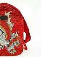 Don Ed Hardy Designs Backpack With Koi Fish  Photo