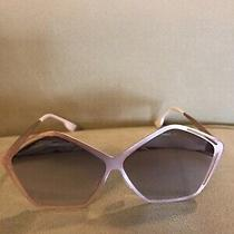 Don Rebel  Polorized Sunglasses (Rose Gold) Funky Shape New in Box Photo