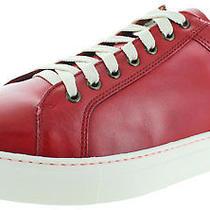 Donald J Pliner Addo Men's Leather Fashion Court Sneakers Shoes Size 11.5 Photo